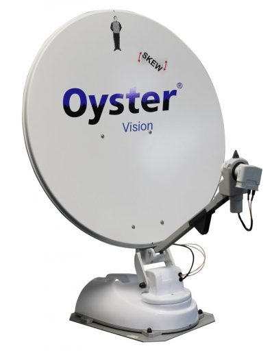 oyster vision satellite dish